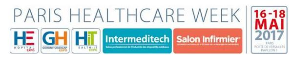 Save the date - Paris Healthcare Week : 2e édition du mardi 16 au jeudi 18 mai 2017
