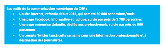 Le Centre Hospitalier de Valenciennes reçoit le prix de la communication hospitalière 2016