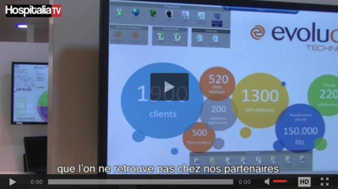 Les rencontres HospitaliaTV à la PHW 2017 : EVOLUCARE