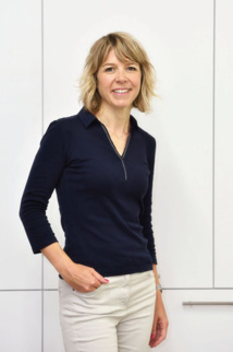Nathalie Larnaudie, directrice R&D du  Laboratoire Rivadis