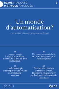 Vivre bien dans un monde d'automatisation : l'Espace éthique Île-de-France questionne l'éthique de la machine intelligente