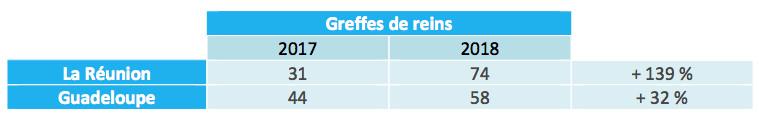 ACTIVITÉ DU PRÉLÈVEMENT ET DE LA GREFFE D'ORGANES EN 2018 UNE BAISSE LIMITÉE GRÂCE À LA MOBILISATION DES PROFESSIONNELS DE SANTÉ