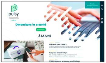 Lancement du site internet Pulsy depuis le 13 mars 2019