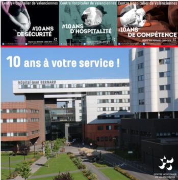 10 ans à votre service - Centre hospitalier de Valenciennes