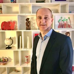 Vincent Creste, responsable commercial pour la France
