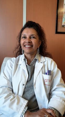 Olivia Keita-Perse, cheffe du service épidémiologie et hygiène hospitalière du Centre Hospitalier Princesse Grace de Monaco. ©DR