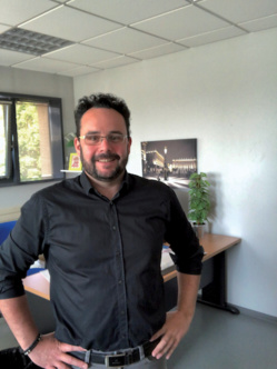 Julien Fabbro, responsable de la restauration au CHRU de Nancy. ©DR
