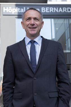 Rodolphe Bourret, directeur général du Centre hospitalier de Valenciennes. © CH de Valenciennes