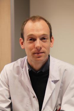 Damien Bruel, responsable de la PUI du Centre hospitalier du Mans. © CH du Mans