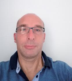 Sébastien Ducki, praticien hygiéniste pour le Ripin de Grenoble. ©DR