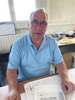 Joseph Kurtz, responsable de la blanchisserie inter-hospitalière de l'Alsace du Nord. ©DR