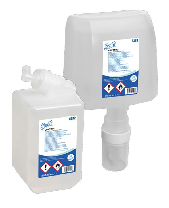 La Mousse Hydroalcoolique Scott® Control™, la garantie d'une parfaite désinfection des mains