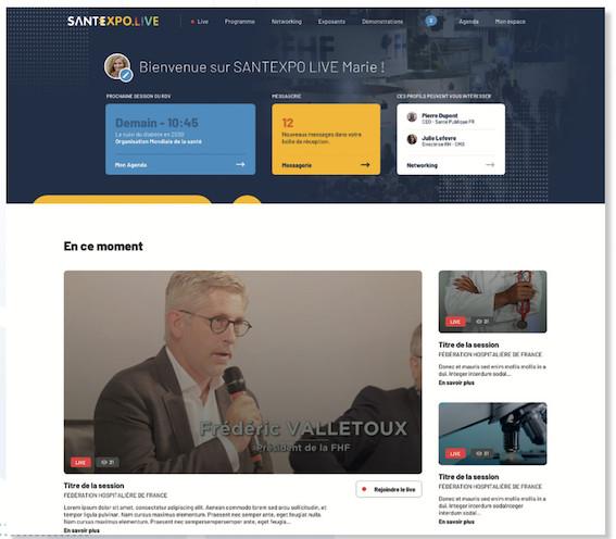 MODE D'EMPLOI : du 9 au 11 mars 2021, rendez-vous sur SANTEXPO LIVE pour une expérience immersive et des rencontres 100% digitales