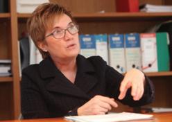 Christine Fiat, directrice générale des Hôpitaux Civils de Colmar. ©DR