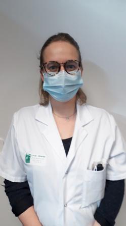 Le Dr. Laure Blanchard-Jacquet, pharmacien assistant spécialiste au CHD Vendée. ©DR