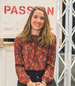Solène Le Berre, cheffe de projets évènementiels et communication chez Quimper Evénements