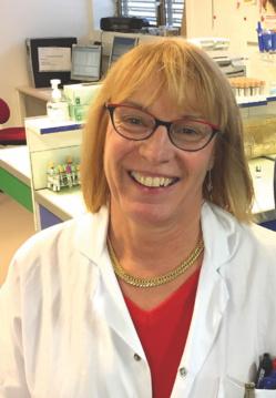Le Dr Carole Poupon, présidente du SNBH. ©DR