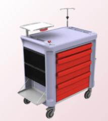 Medical Modular System présente son nouveau chariot modulaire de transport au salon Medica 2013 (Düsseldorf)