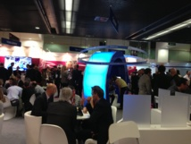 Stand GE Healthcare aux JFR 2013