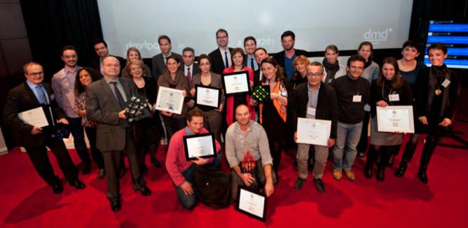 Les lauréats des 1ers Trophées de la Santé Mobile (©Faust Favard)