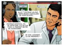 Face à l'AVC, « 4h30 CHRONO », le 1er Serious Game à destination des professionnels de santé