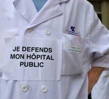 Le Mouvement de Défense de l'Hôpital Public (MDHP) a 5 ans !
