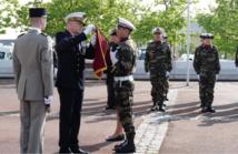 L'hôpital Percy décoré de la croix de la valeur militaire