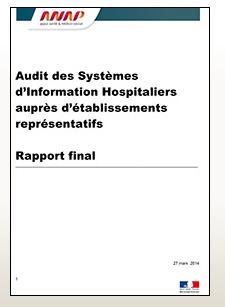 Publication de l'ANAP : « Audit des Systèmes d'Information Hospitaliers auprès d'établissements représentatifs »
