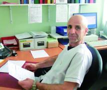 Le Dr Nabil Chioukh, responsable du Dépôt de Sang (Site de Montbéliard)