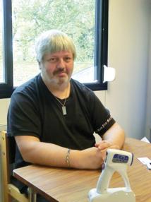 Thierry Dedenys  Technicien biomédical au CH Simone Veil
