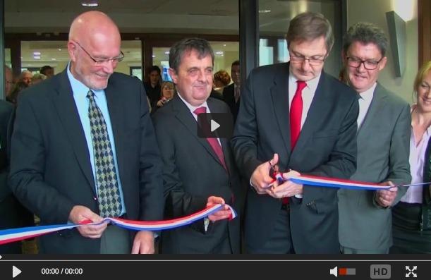 Inauguration du Centre Hospitalier des Près Bosgers de Cancale