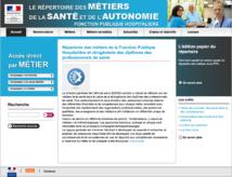 Répertoire des métiers de la santé et de l'autonomie : une version modernisée au bénéfice de tous les hospitaliers