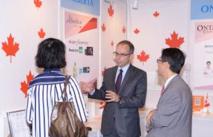 Les 11 sociétés du pavillon canadien, dont c'était la première participation, ont enregistré de bons résultats.