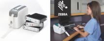Solutions d'identification numériques des patients Zebra HC100 et LP2824