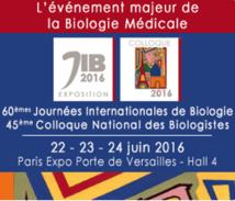 JIB / ACNBH 2016 : L'évènement Majeur de la Biologie Médicale