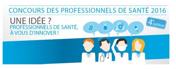 Eurasanté lance la 4ème édition du concours  « Une idée ? Professionnels de santé, à vous d'innover ! »