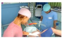 La simulation médicale numérique au service de l'entrainement des sages-femmes et obstétriciens