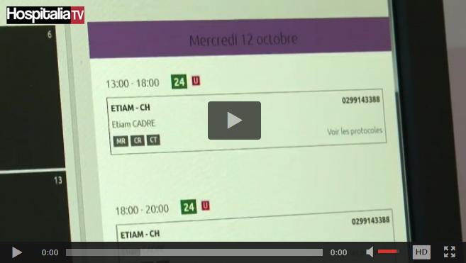 Les rencontres HospitaliaTV aux JFR 2016 : ETIAM