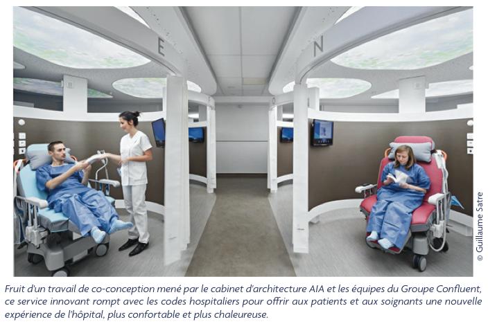 Un nouvel espace innovant de chirurgie ambulatoire voit le jour à Nantes et donne une vision de l'hôpital du futur