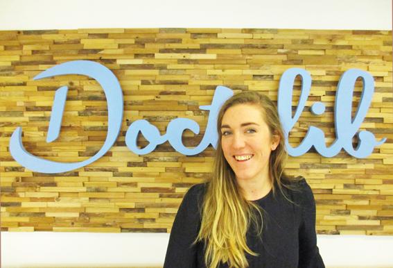 Alexandra Boulin, responsable de l'équipe CH et CHU pour Doctolib