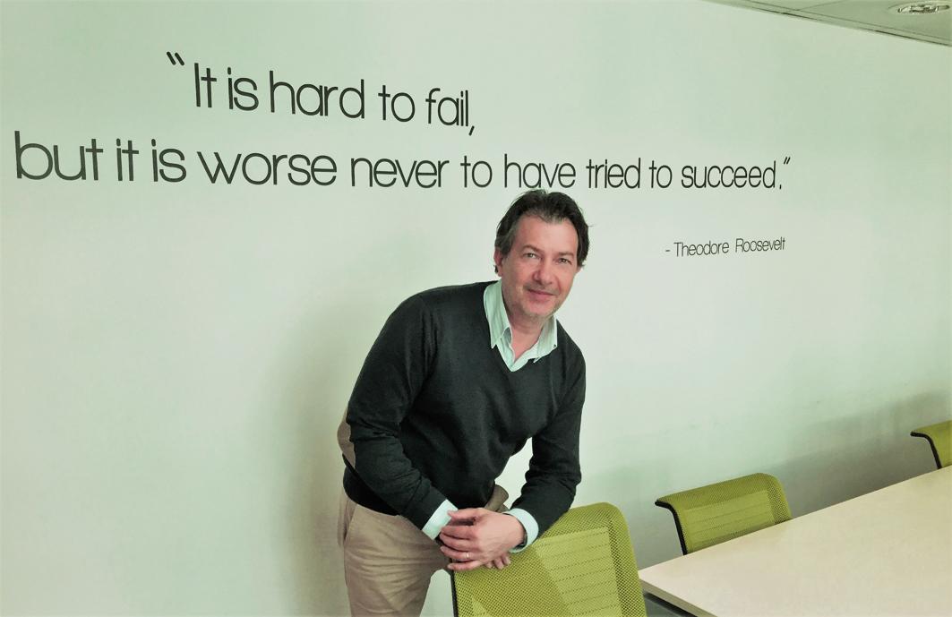 Jean-Pierre Cardoso, co-fondateur de MeDtrada