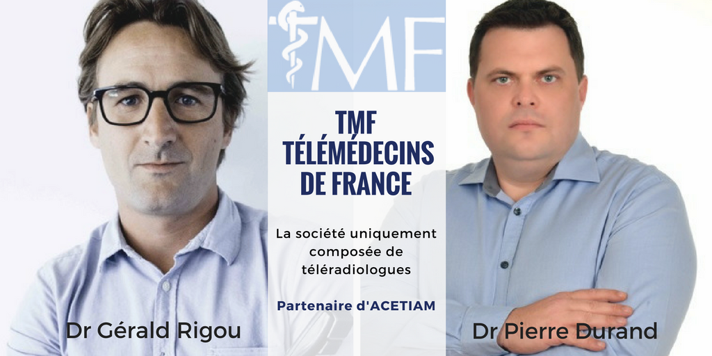 Télémédecins de France (TMF) qui regroupe plus de 150 radiologues français présente son activité de téléradiologie aux JFR 2017