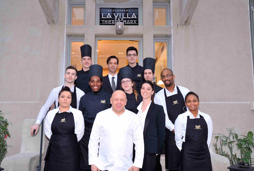 Thierry Marx ouvre la brasserie « La Villa » à l'hôpital Edouard Herriot (HCL)