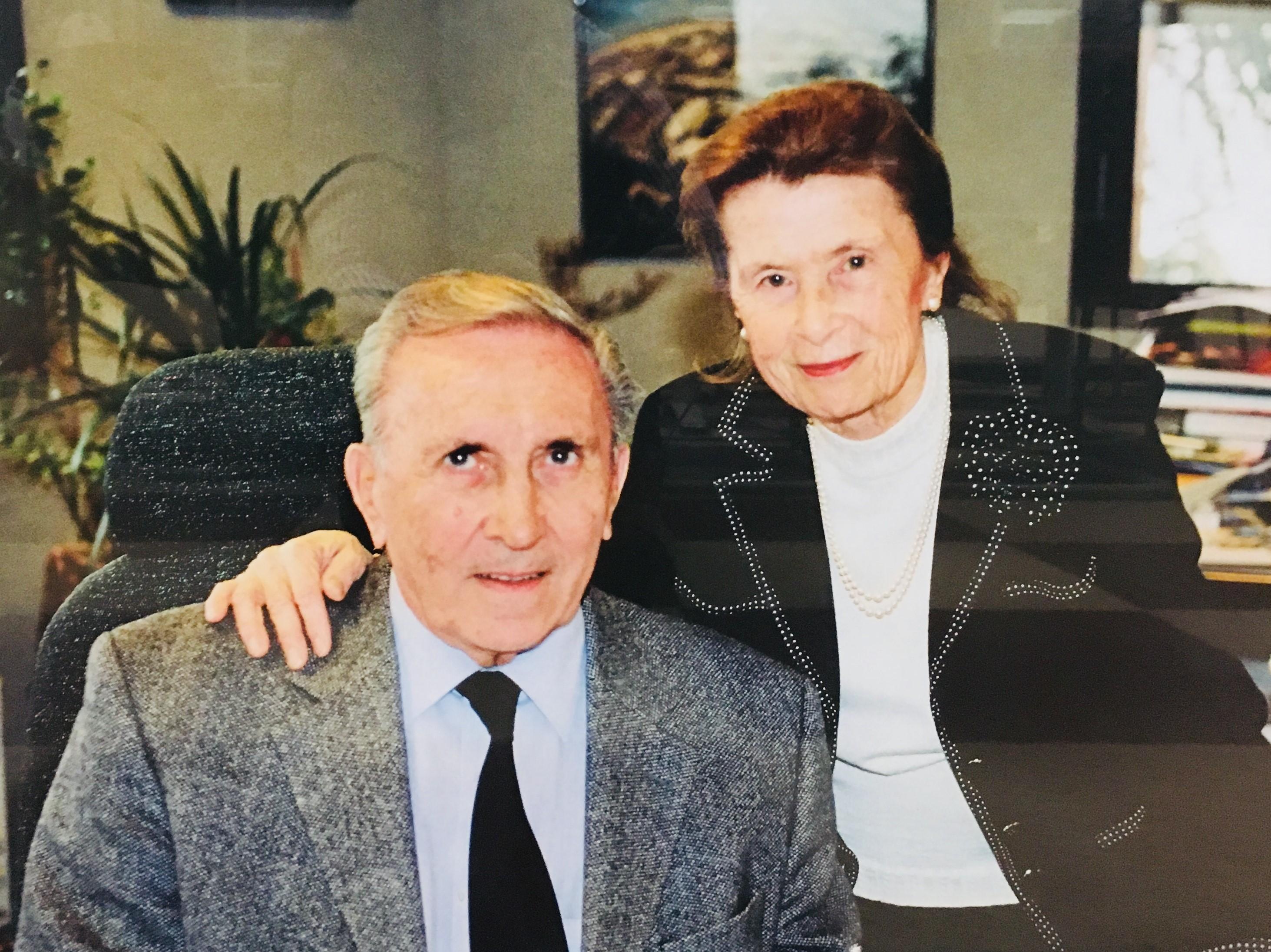 Hommage rendu à André Lerond, Président du Conseil d'Administration et ancien Directeur Général de PAREDES, Ancien capitaine de l'équipe de France de Football