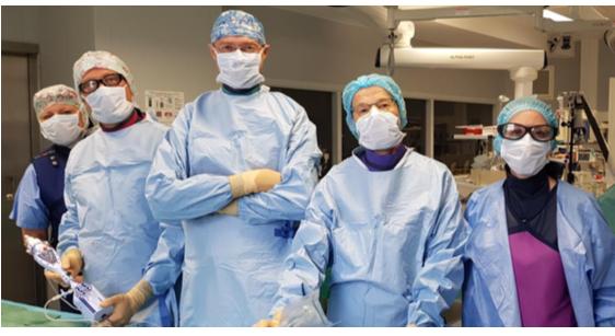 Le CHU de Rennes, 1er centre français à franchir le cap de la 100e intervention sans chirurgie sur valve mitrale