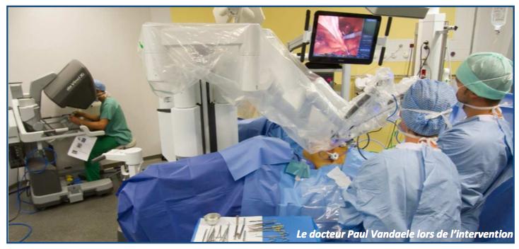 Le 24 mai, la chirurgie robotisée a démarré à l'hôpital Victor Provo à Roubaix