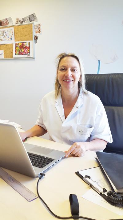 Nadine Mellet, cadre de santé en ambulatoire et chef de projet interne