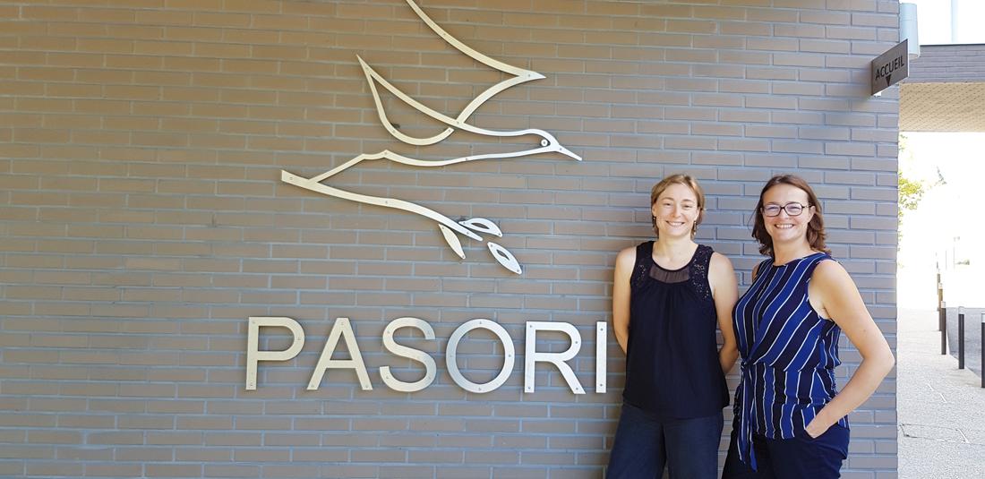 Pascale et Frédérique Bordet, dirigeantes du CRF Pasori