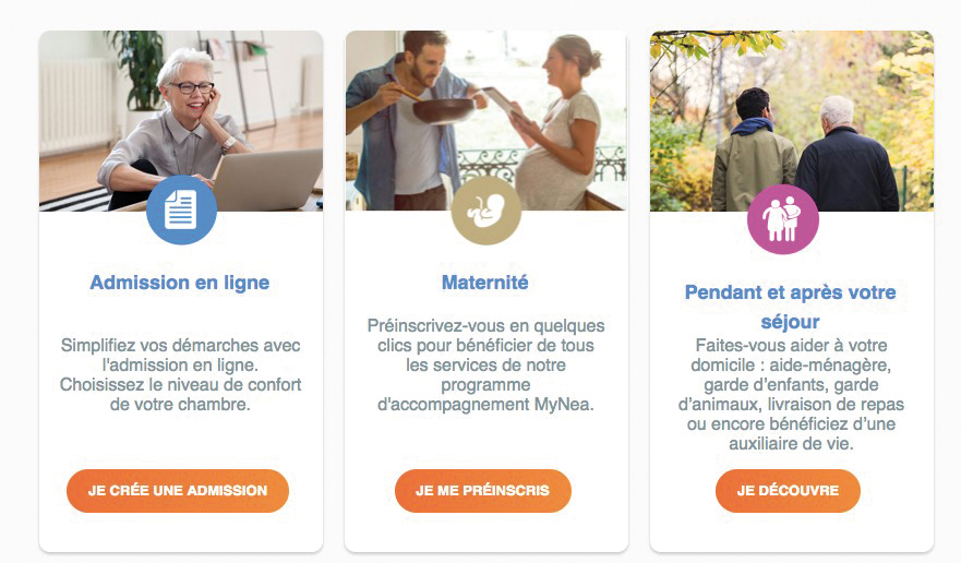 Ramsay Services, un portail Web unique en France