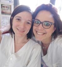 Carine Saureau et Aurélie Lallemand, IDE référentes